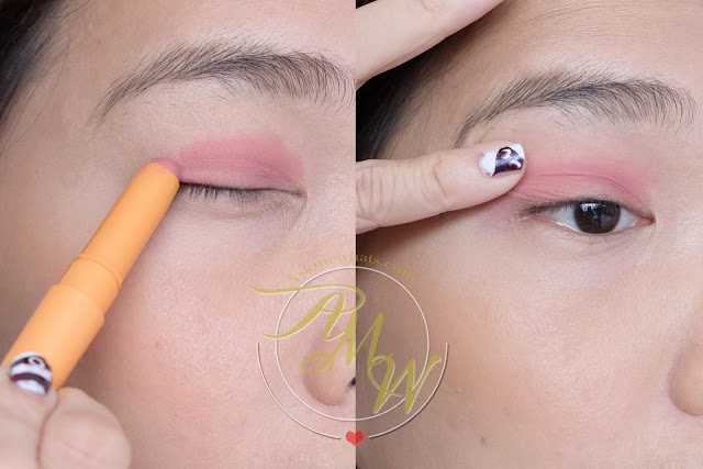 a photo on how to apply Generation Happy Skin Easy Eyes review in FRESH by Nikki Tiu of askmewhats.com