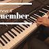 [악보] Mocca - I remember_팝송 명곡 피아노 편곡, 연주