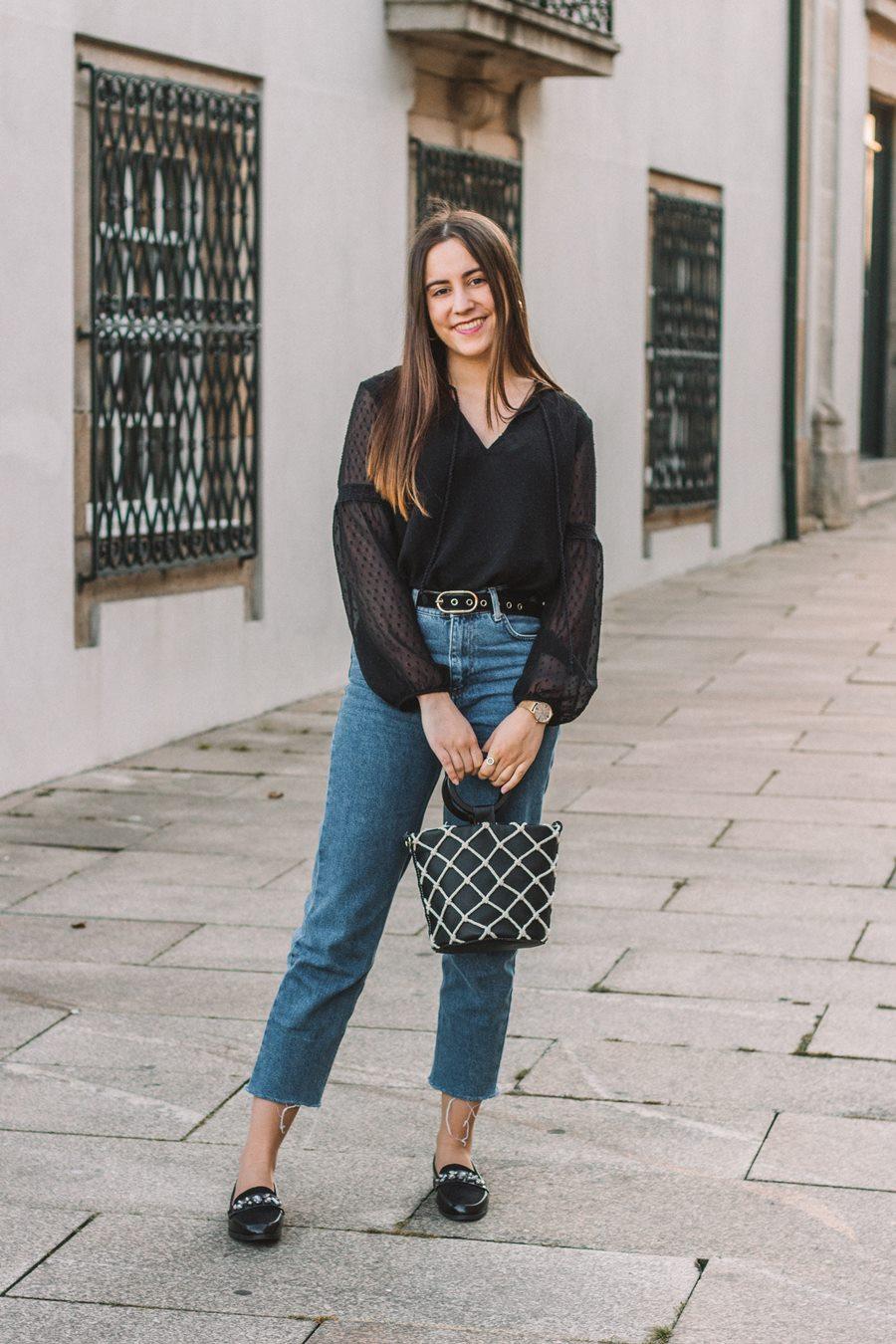 look simples primavera mom jeans