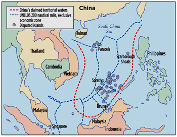 Konflik laut cina selatan dan dilema keamanan kawasan