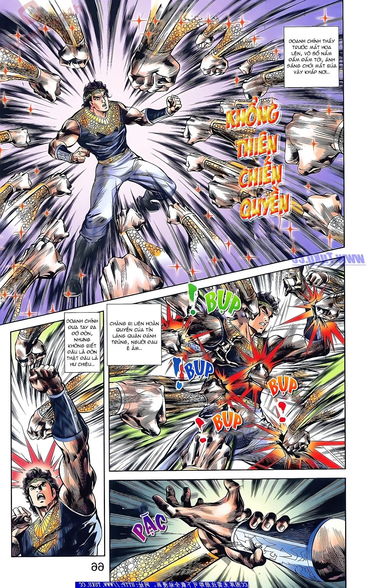 Tần Vương Doanh Chính chapter 49 trang 20