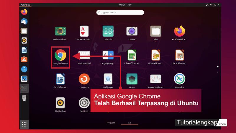 tutorialengkap 4 Cara install aplikasi browser google chrome pada linux ubuntu versi terbaru