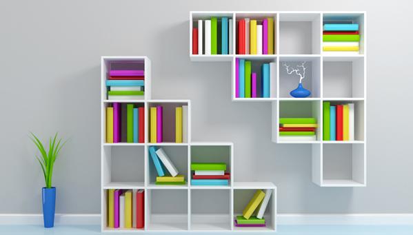 Macam-macam Model Lemari Buku