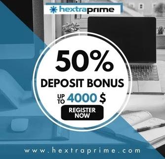 Deposit Bonus 50%
