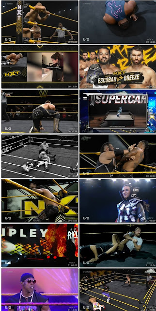 WWE NXT HDTV 480p 12th Aug 2020 300MB || 7starhd
