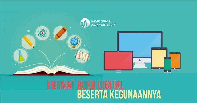 Buku digital format dan manfaatnya