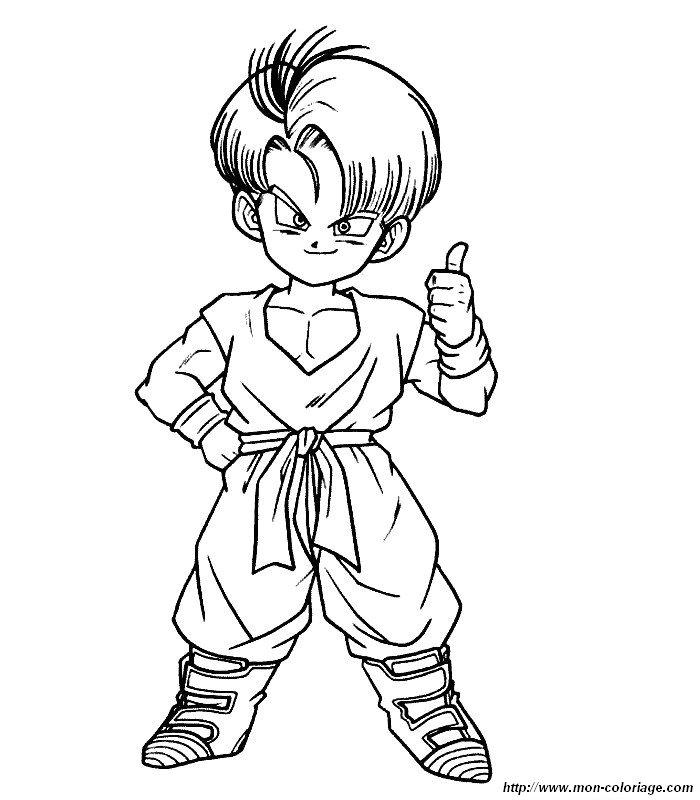 Desenhos Do Dragon Ball Z Para Imprimir E Pintar