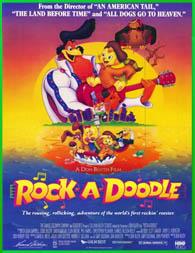 Rock-A-Doodle (Amigos inseparables) (1991) [3gp/Mp4/DVDRip Latino HD Mega