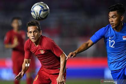 Hasil Pertandingan SEA Games 2019 Timnas Indonesia U-22 Vs Singapura Berakhir Dengan Skor 2-0