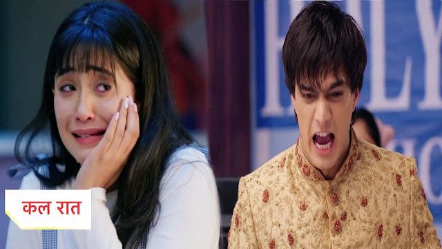 Heart-Broken Twist : Kartik's questions gets Naira's silence in Yeh Rishta Kya Kehlata Hai