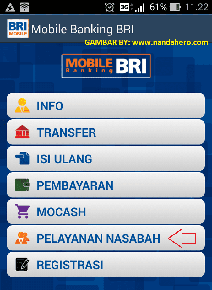 Cara Disable ATM BRI Lewat Mobile Banking