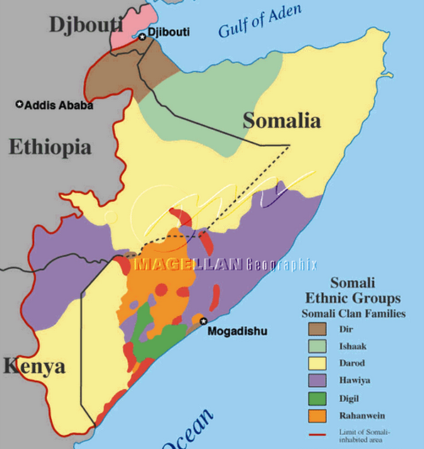 The Ethnic Origin Of The Somali People And Clan System « BakiPress.com