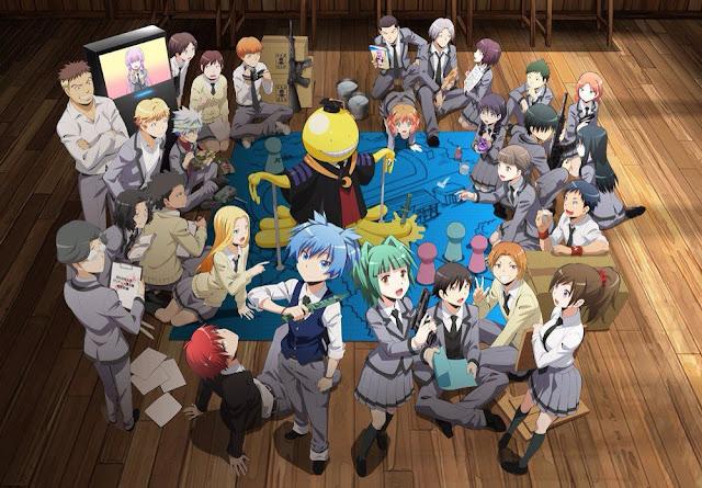 Download OST Opening Ending Anime Ansatsu Kyoushitsu Full Version