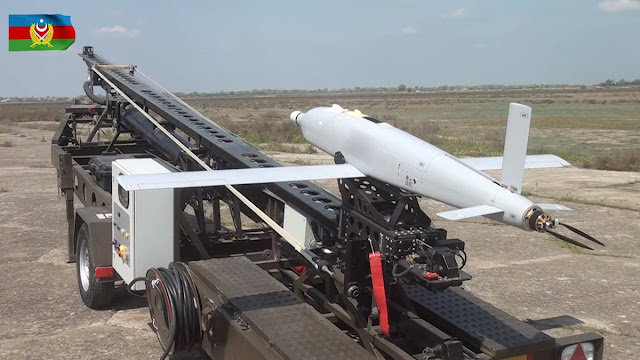 الدرون الانتحاري SkyStriker suicide drone Loitering munition UAV