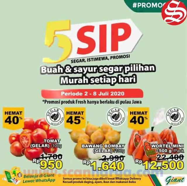Promo GIANT Produk Fresh 5 SIP (Segar Istimewa Promosi) 2 - 8 Juli 2020 1