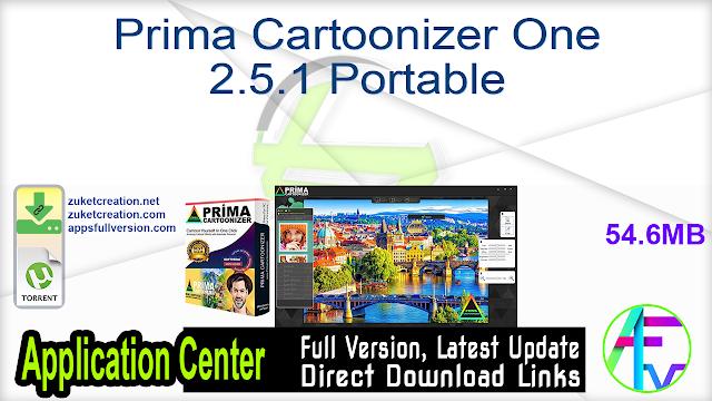 Prima Cartoonizer One 2.5.1 Portable