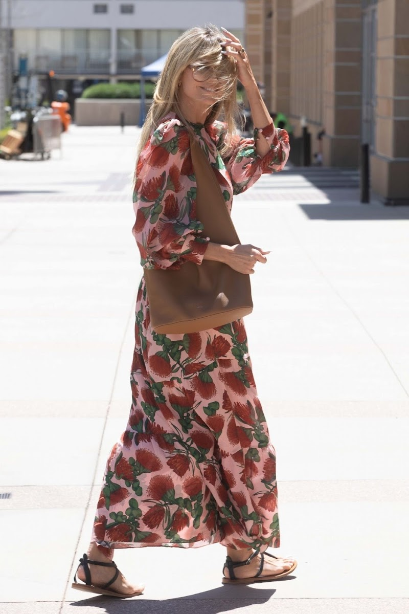 Heidi Klum Spotted at AGT Taping in Los Angeles 18 Apr-2021