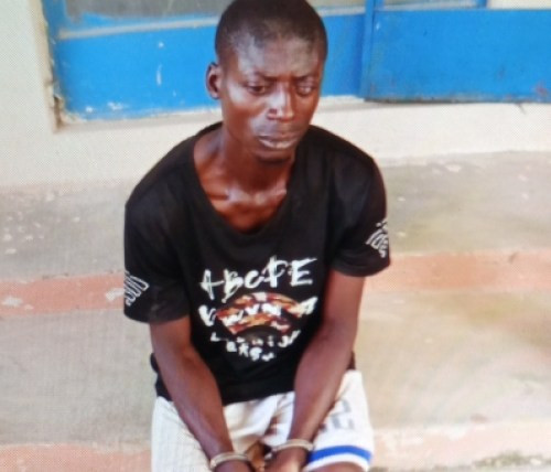 'I Saw Imam and My Wife having s3x' - Man confesses After Being Arrested for Killing Islamic Cleric (Photo)