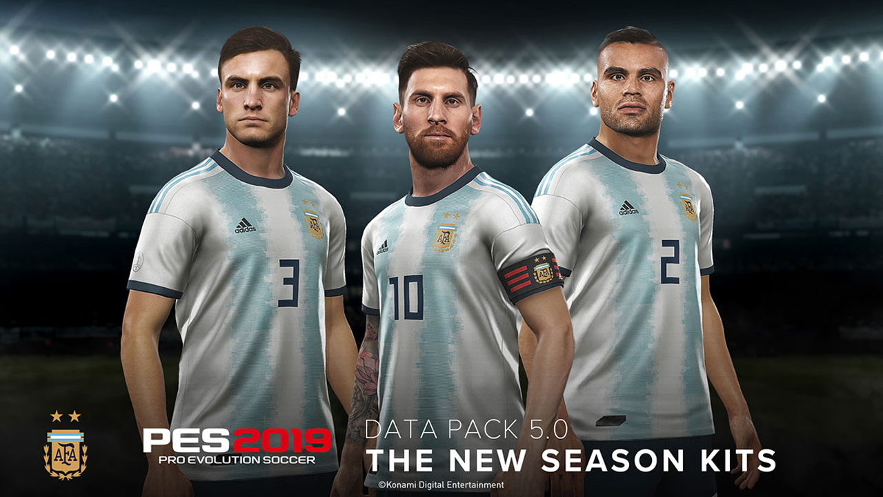 Data Pack 5.0 now Available for Pes 2019