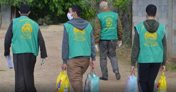 جمعية الإرشاد  توزع أزيد من 5000  إعانة على  المعوزين  والمتضررين من الحجر الصحي بالشلف