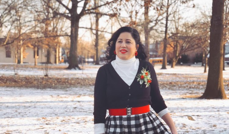 A Vintage Nerd Recreates: White Christmas (1954): Judy Haynes