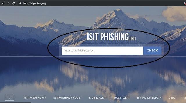 Phishing link detector