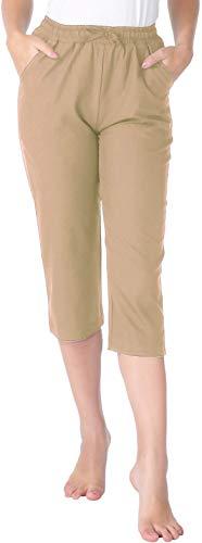 80% off Elastic-Waist Stretchy Comfy Fit Drawstring Lounge Sweatpants