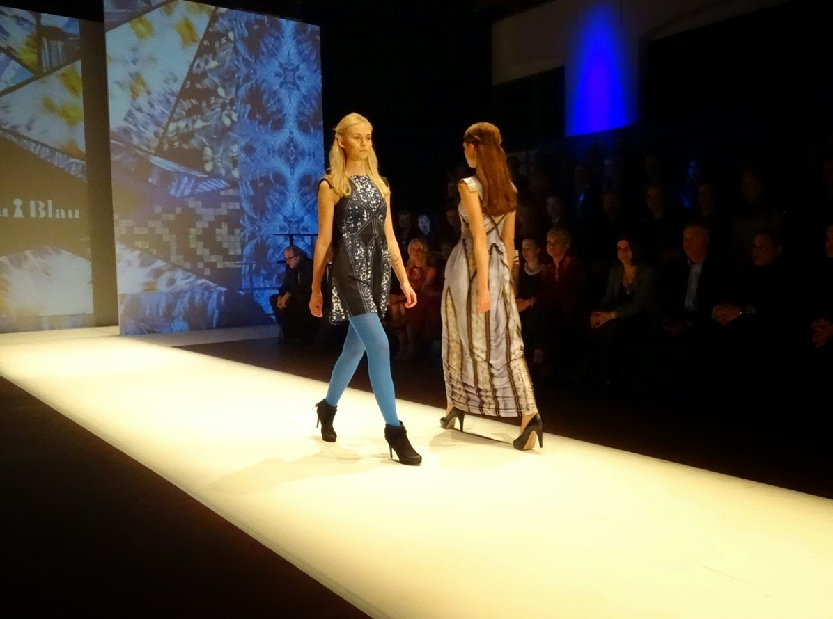 Frau Blau runway show