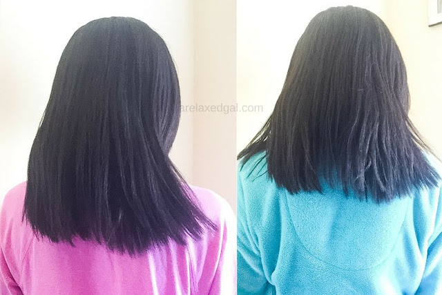 Results of my first relaxer touch up in 2016 | arelaxedgal.com