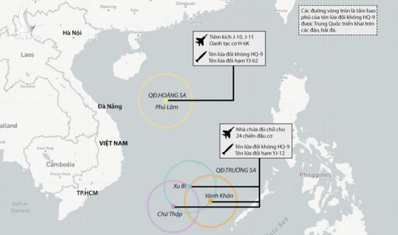 """Phía sau một Trung Quốc """"phô trương"""" quân sự là cả một âm mưu """"vây hãm chiến lược"""" nguy hiểm hơn nhiều"""