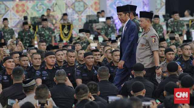 27 Ribu Personel TNI-Polri Amankan Pelantikan Jokowi