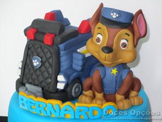 bolos patrulha canina bragança