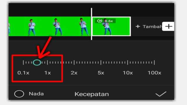 Cara membuat Video Slow motion di CapCut