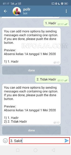 keterangan absensi di telegram