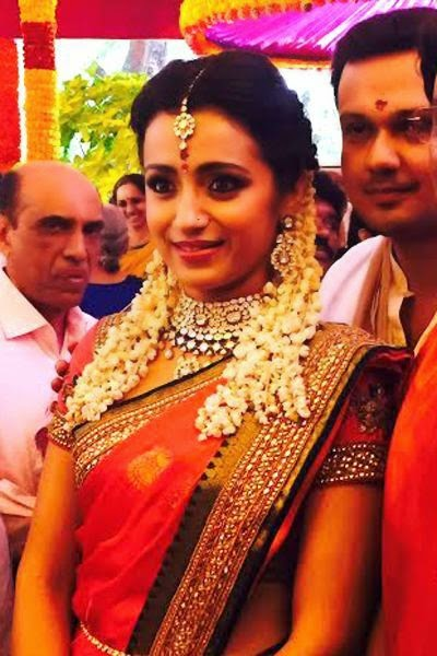Actress Trisha Engagement