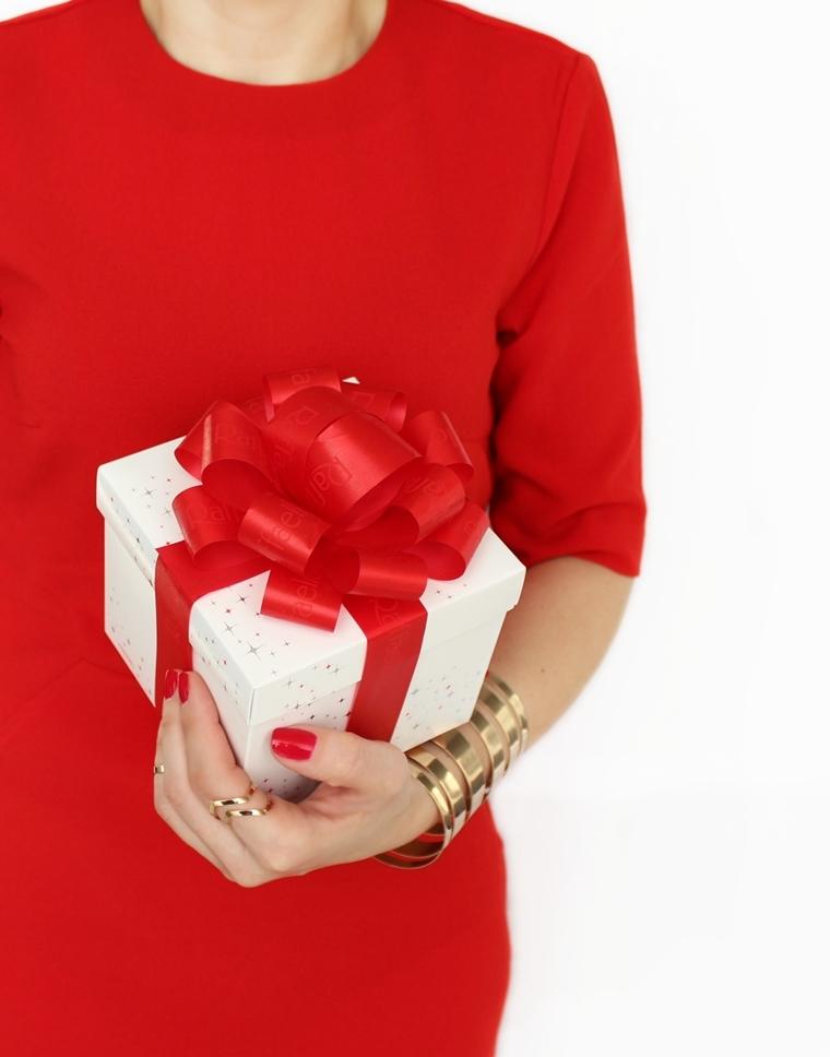 Moja świąteczna stylizacja i manicure + Wesołych Świąt