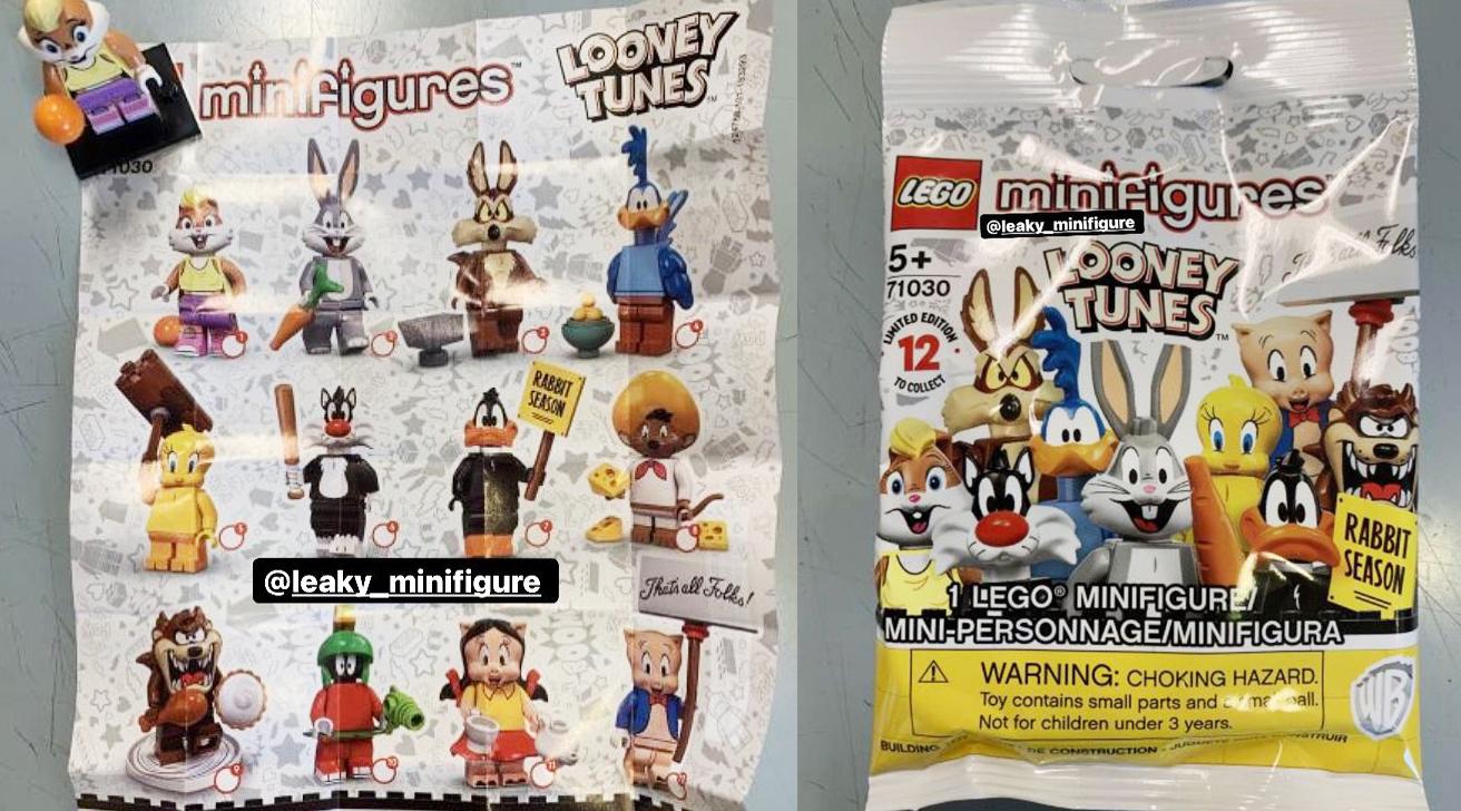 レゴ『71030 ルーニー・テューンズ』ミニフィグ新製品情報:5月~6月発売見込み(2021)