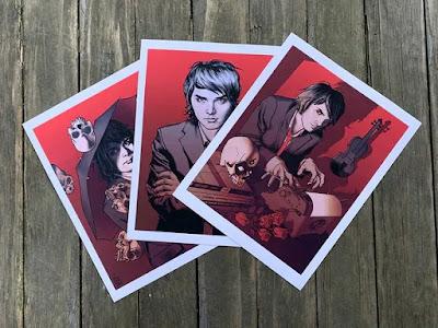 """Gerard Way & The Umbrella Academy """"Apocalypse Suite"""" Print Portfolio by Brian Ewing"""