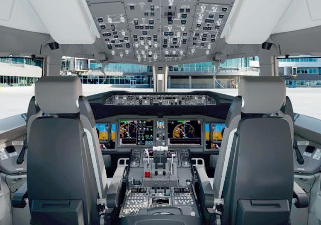 Boeing 777-9X cockpit