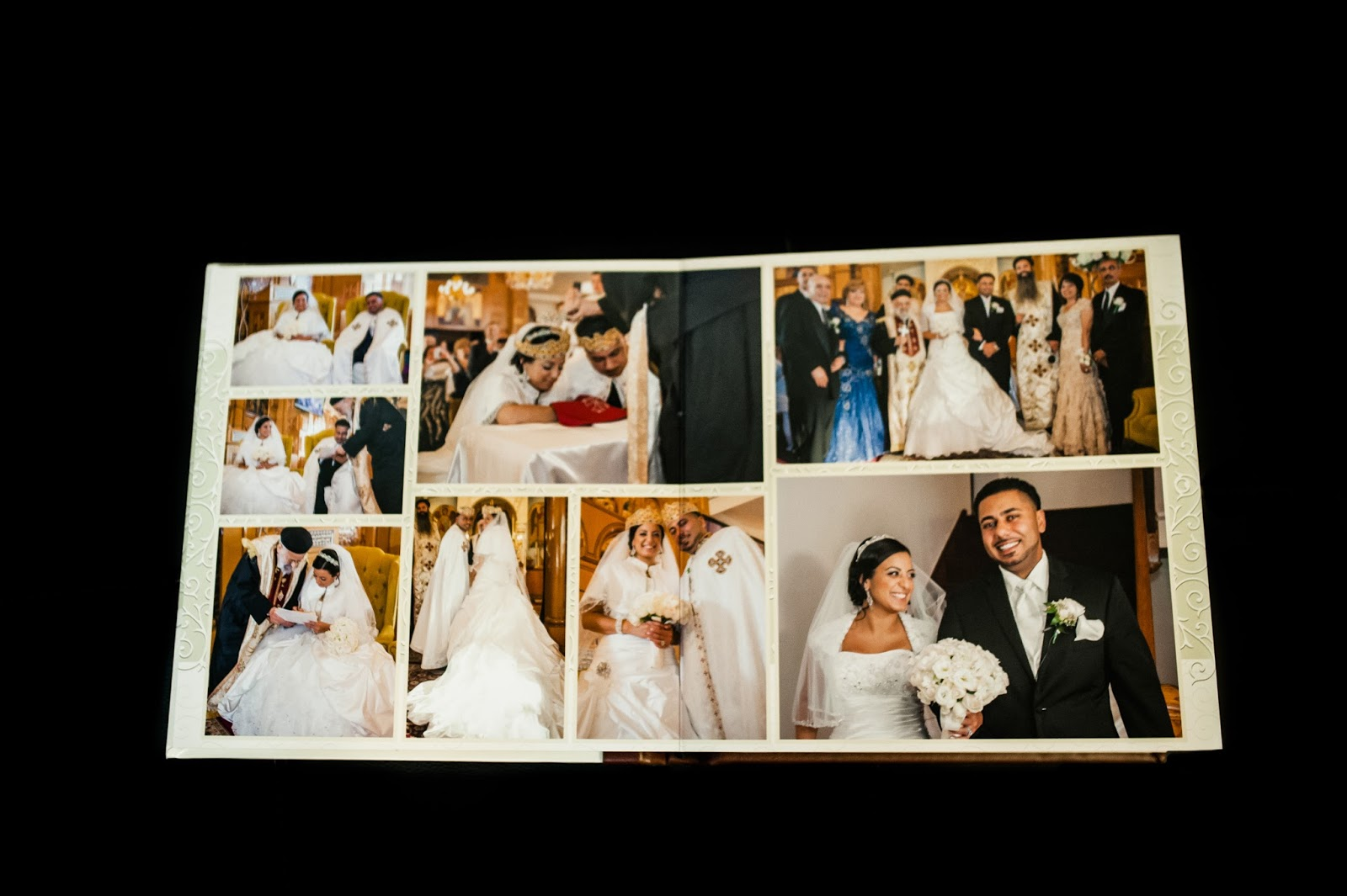 wedding photographer album samples