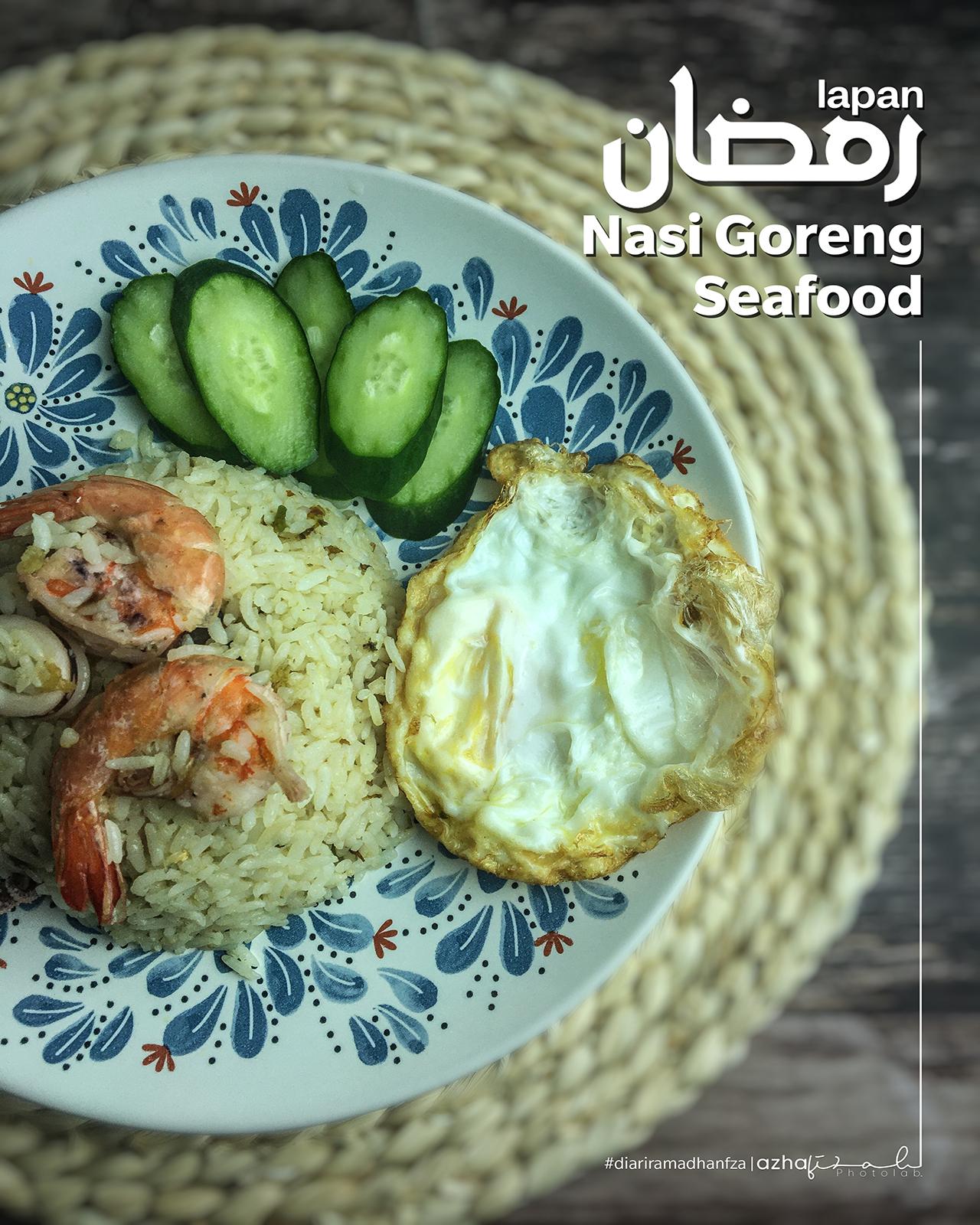 Resepi Nasi Goreng Seafood Ringkas