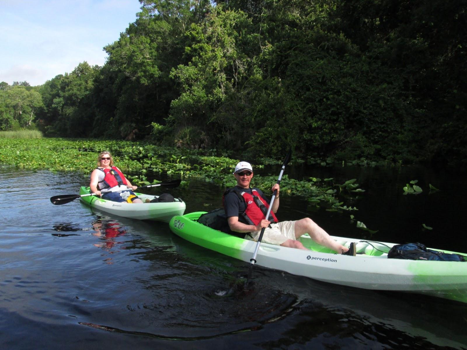 Kayaking near Orlando, Florida: Our Florida Vacation ...