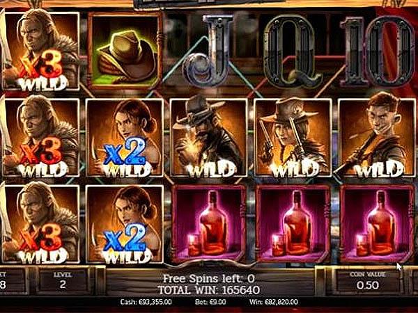 Kemenangan Slot Berukuran Monster Dead or Alive 2 - Bet 9 Euro dan Menang 82820 Euro