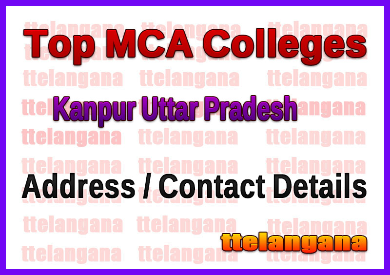 Top MCA Colleges in Kanpur Uttar Pradesh