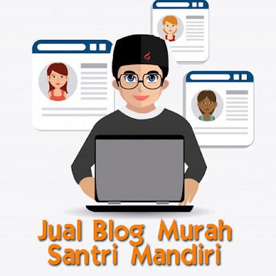 Jual Blog Murah Santri Mandiri