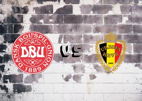 Dinamarca vs Bélgica  Resumen