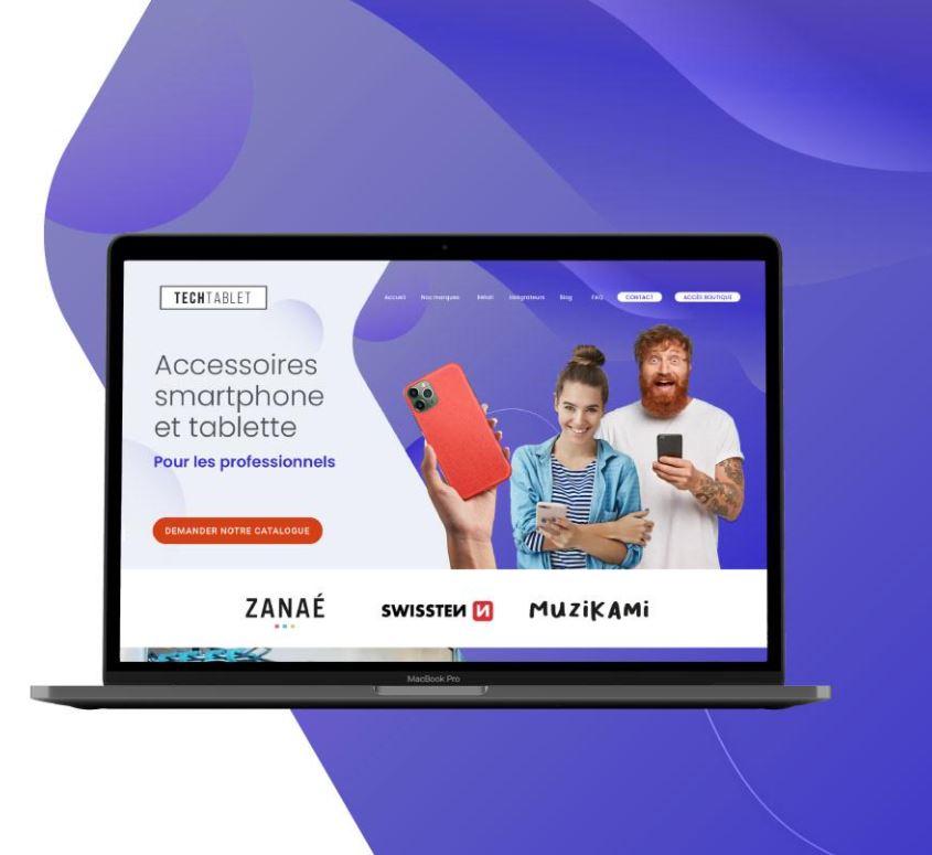 Site web : tech tablet