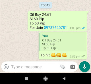 11-05-2020 Forex Trading Commodity Crude Oil Signal Prices