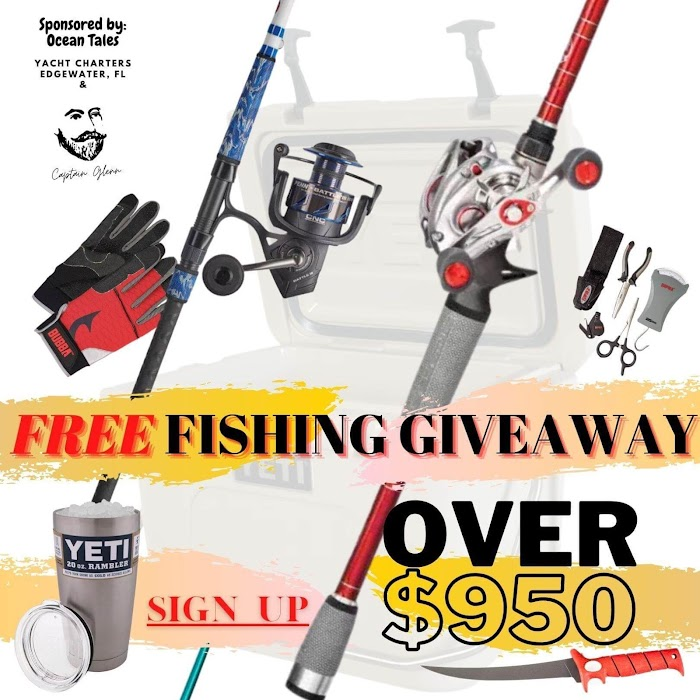 Ultimate Fishing Gear Giveaway  (Worth Over : $950)