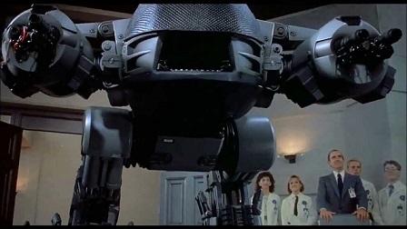 O futuro da aplicação da lei | ED-209 de Robocop